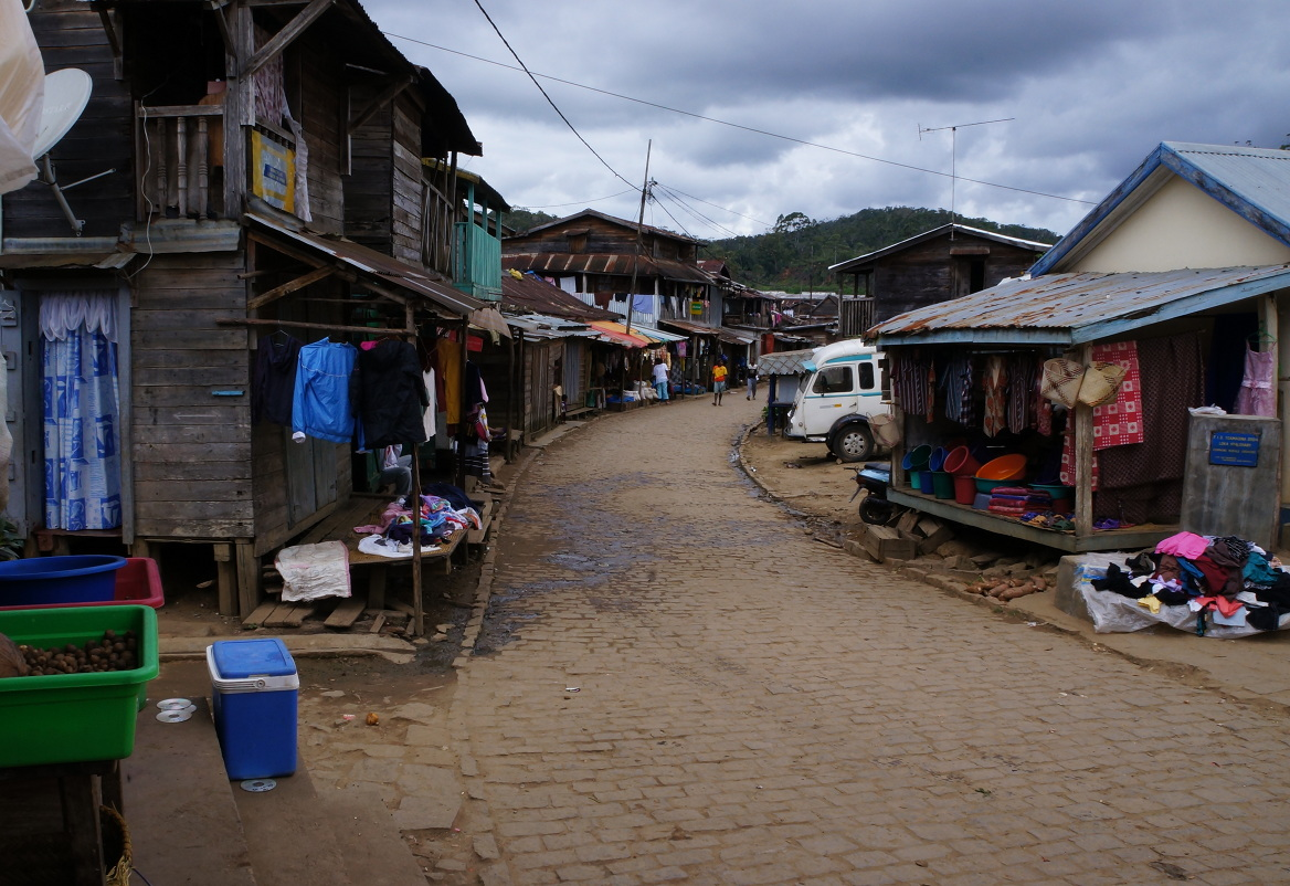 Madagascar town - centre