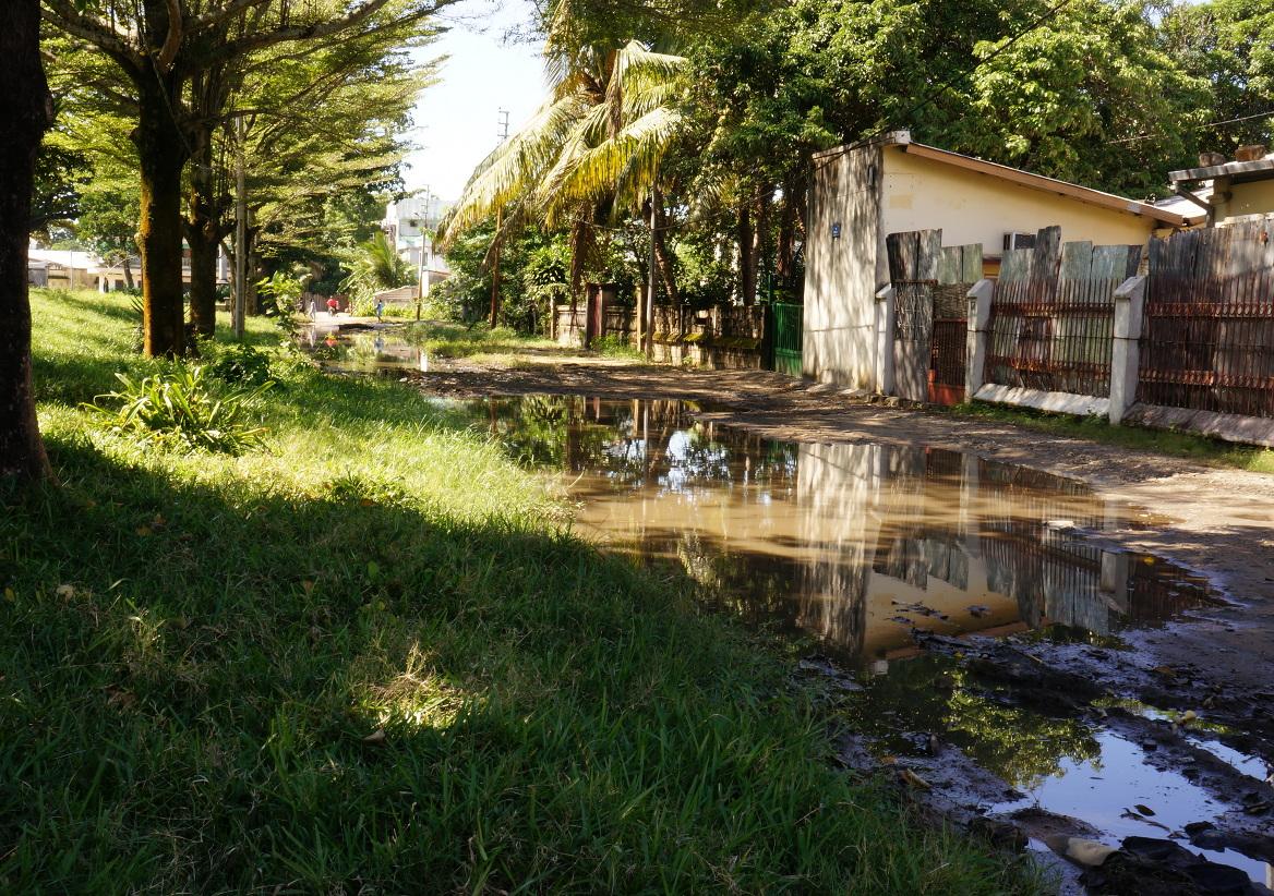 Tamatave - muddy street