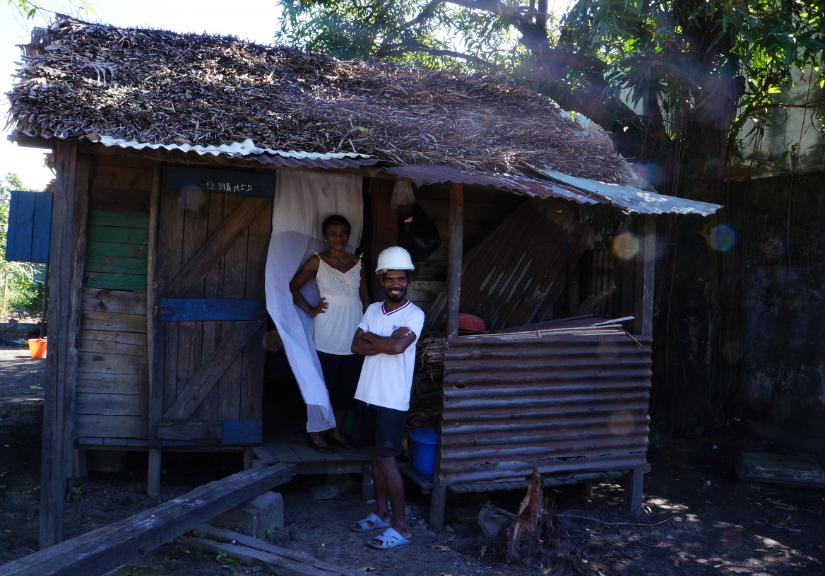 Tamatave - two nice people