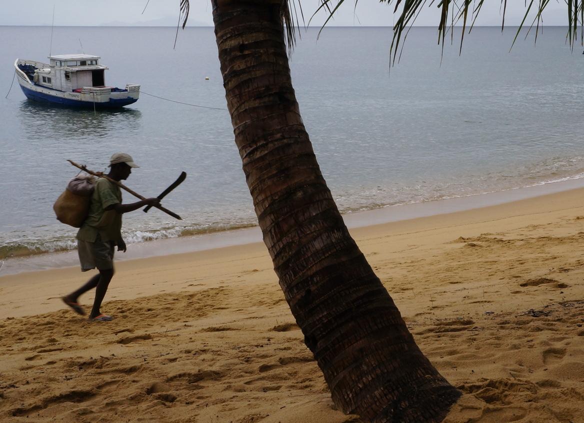 Masoala - man with machete
