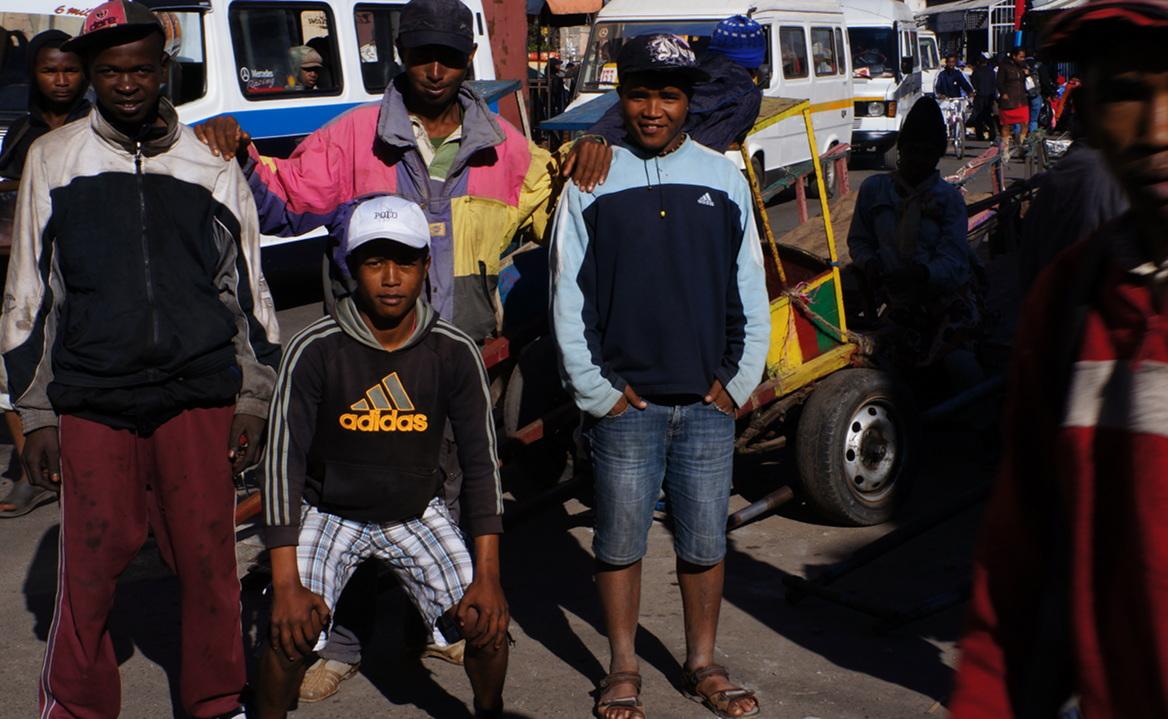 Antananarivo - chaps trailing me