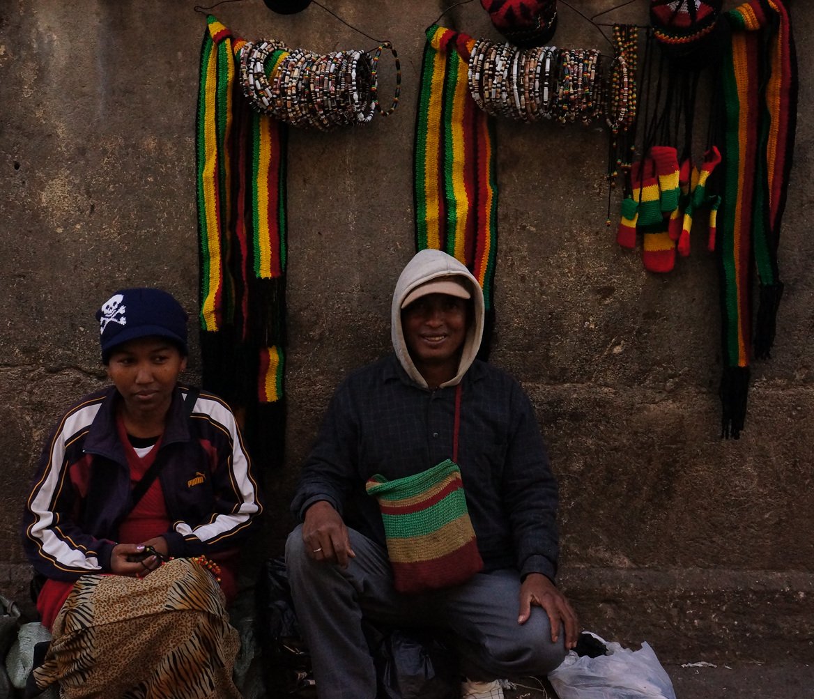 Antananarivo- jewellery sellers
