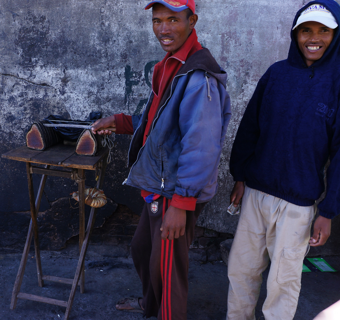 Antananarivo food seller