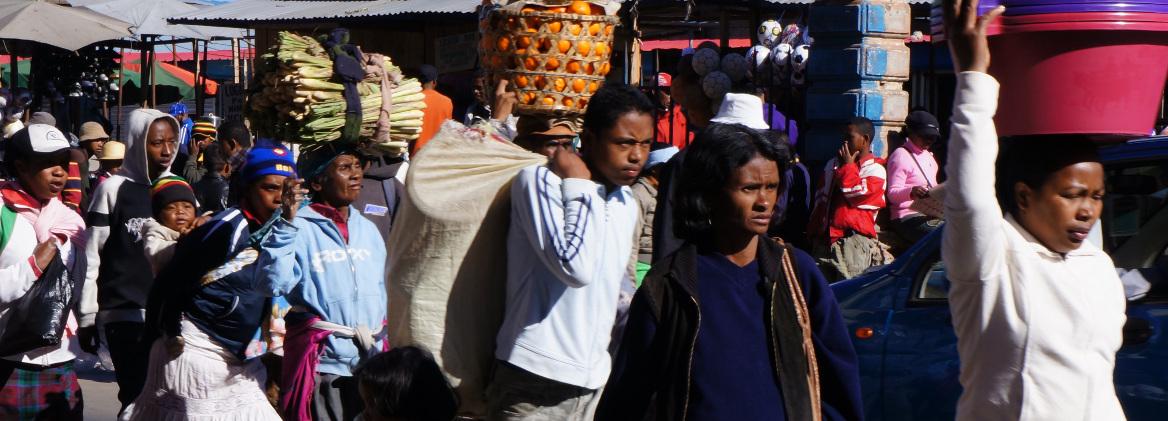 Morning Rush Hour - Madagascar - Antananarivo