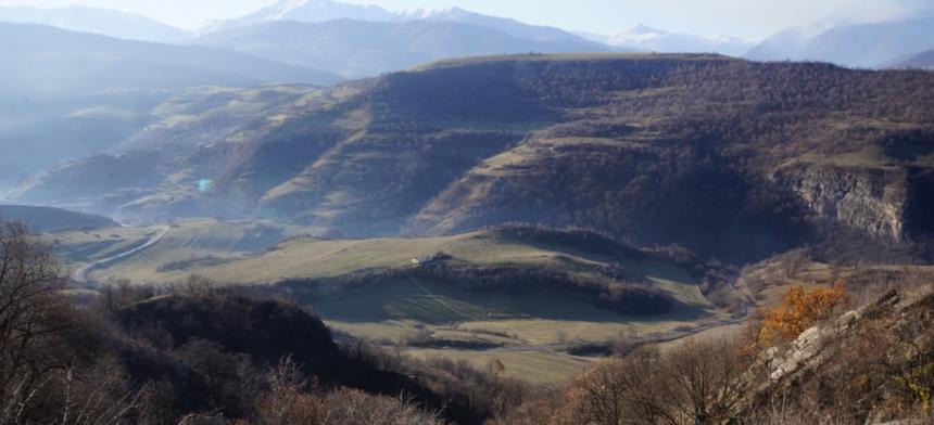 Walking to Dsegh: Climbing the Badlands