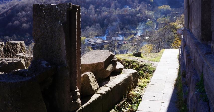 Goshavank Monastery, Armenia in town of Gosh