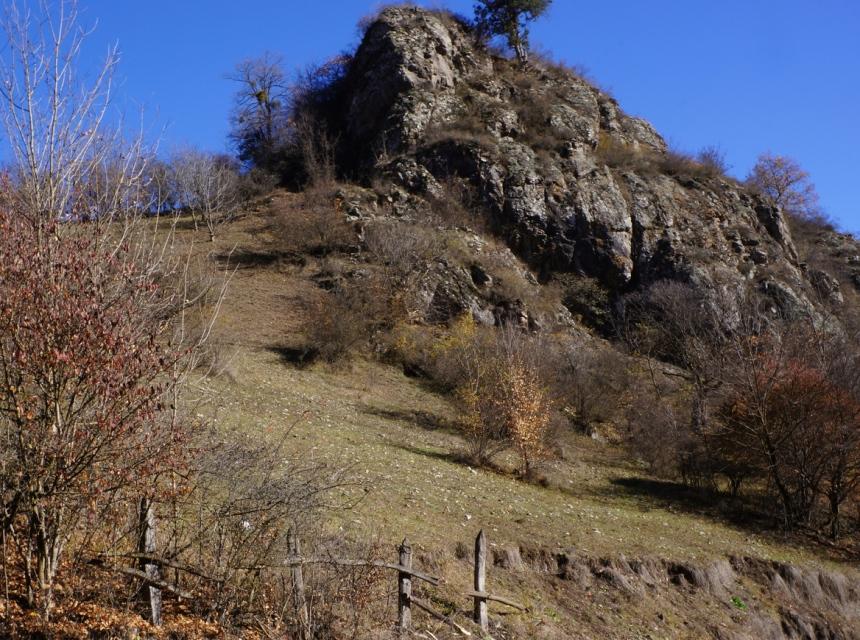 Mountain road to Goshavank Monastery, Armenia