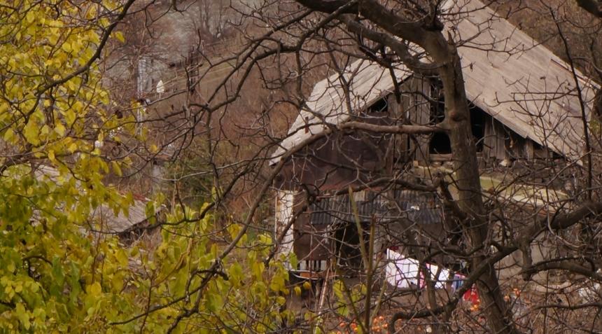 Kobayr- Village Houses in Poor Repair