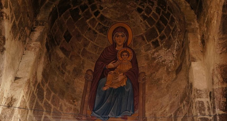Odzun Ancient Church - Ancient Madonna
