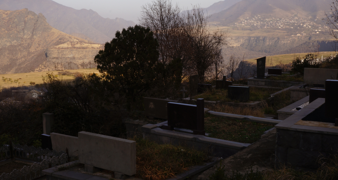 Sanahin - Cemetery Overlooking the Valley