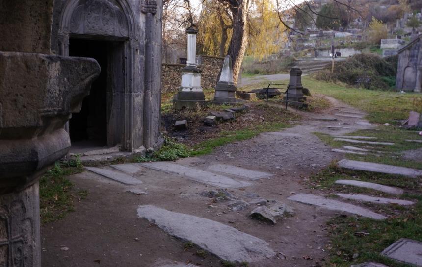 Sanahin Monastery - Path Leading to Cemetery