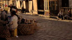 Antananarivo Street - Baskets