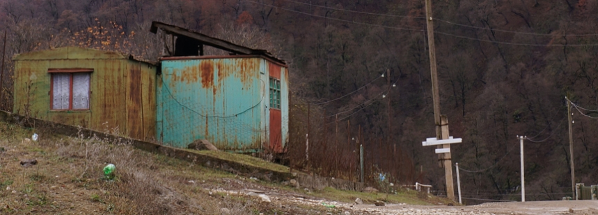 Armenia - Container houses