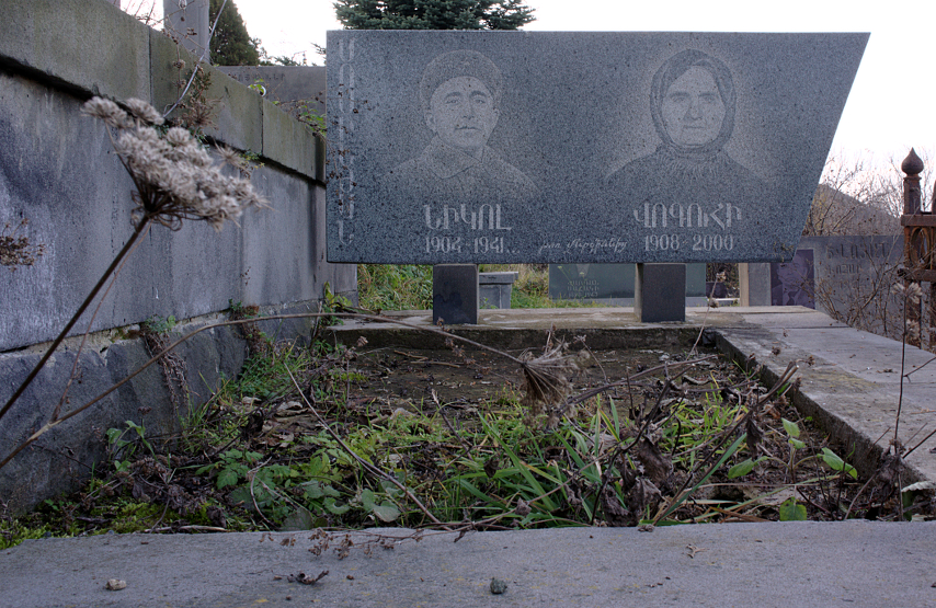 Armenian Cemetery - Man Died in War, Wife 60 Years Later