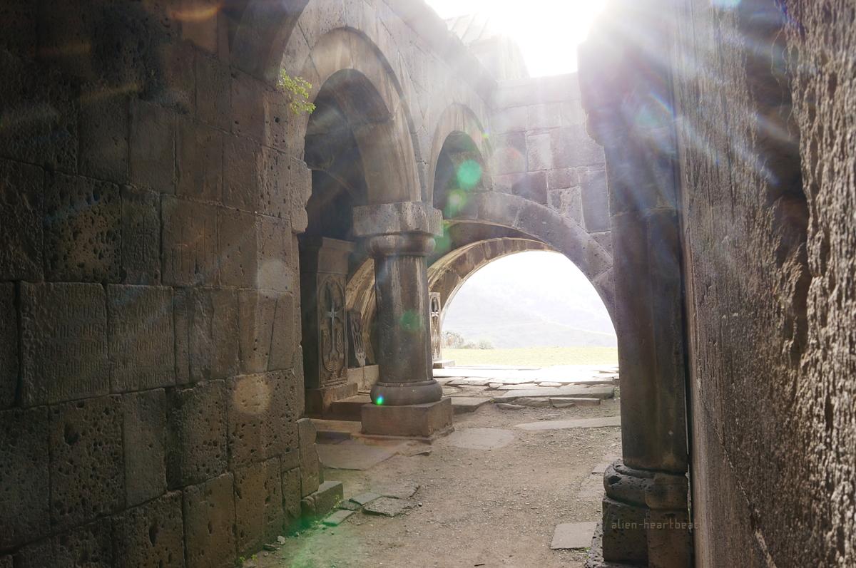 Haghpat church - Light of God