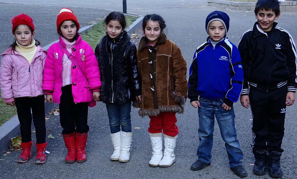 Six Armenian Children