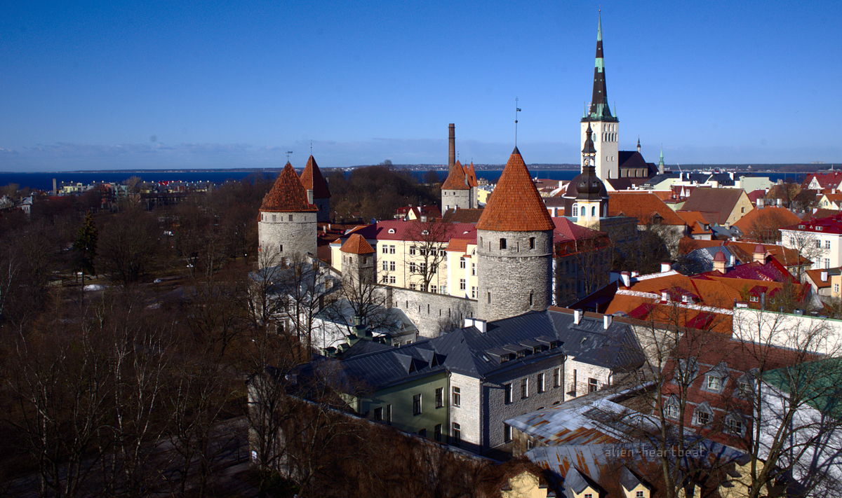 Tallinn - Emerging from the Sea