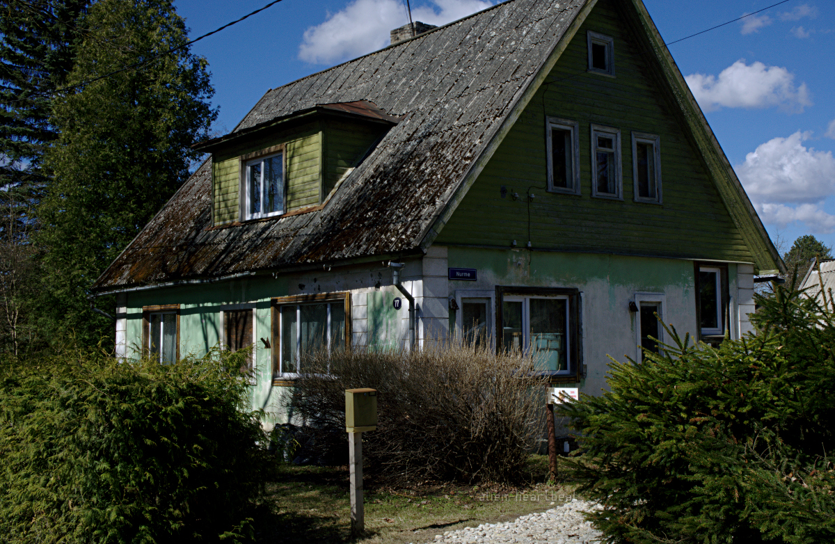 Estonia, Paide: Cosy Old Wood House