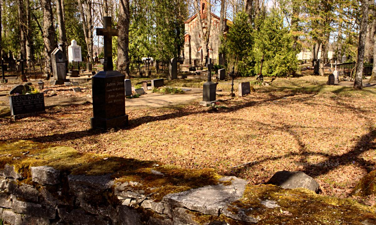 Estonia, Paide - Reopalu Cemetery