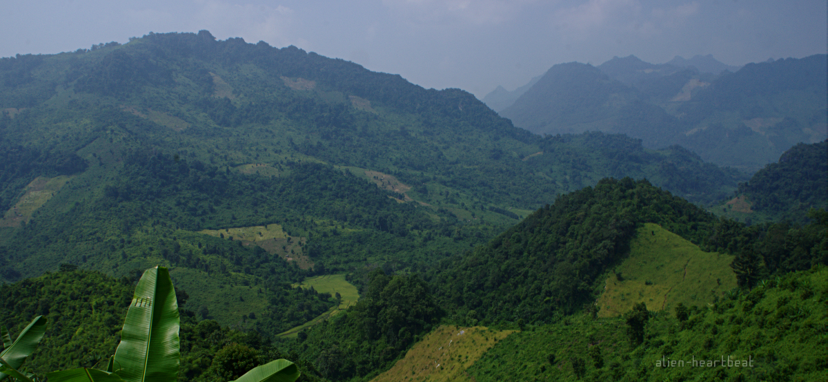 Laos: mountains ahead